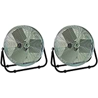 TPI Corporation F18-TE Industrial Workstation Floor Fan, Single Phase, 18 Diameter, 120 Volt (Floor Model)
