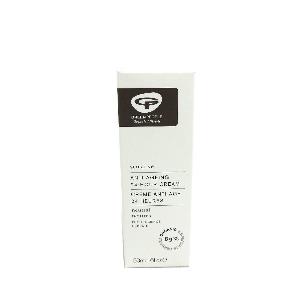 Green People - Anti-Ageing 24-Hour Cream - 50ml (Case of 6)