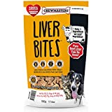 Chewmasters 100% Pure Beef Liver Bites, Healthy Freeze Dried Dog Treats, 17.6 oz, All Natural, Grain Free, High Protein & Zer