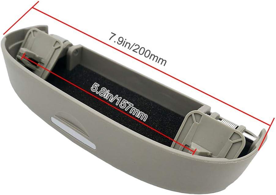Estuche de Gafas de Coche Soporte de Gafas de Sol Auto Interior Accesorios para A1 A3 8V 8P S3 A4 B9 B8 A6 A7 S6 S7 S4 RS4 A5 S5 Q3 Q5 Q7 Beige