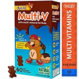 Yum V's Multi-Vitamin Plus Mineral Formula Milk Chocolate, 60 Count