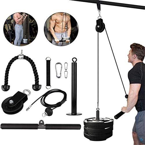 Kabel Katrol Lifter DIY Lift Katrol Systeem Kabel Systeem Machine Thuis Fitness Apparatuur voor Training Biceps Triceps Schouders en Terug