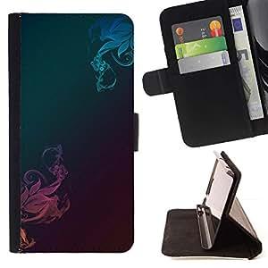 Momo Phone Case / Flip Funda de Cuero Case Cover - Patrón de metal cepillado trullo Rosa - LG Nexus 5 D820 D821