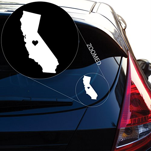 Love California Decal Sticker for Car Window, Laptop and More. # 567 (4