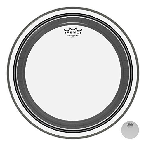 - Remo PR1318-00 18-Inch Clear Powerstroke Pro Bass Drumhead
