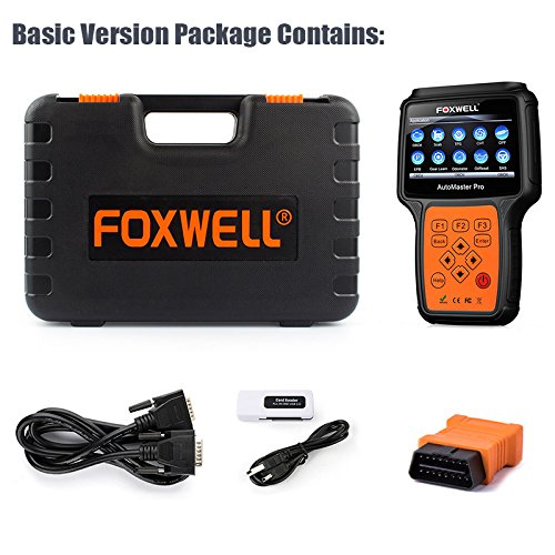 Ease-of-use of Foxwell NT644 makes it a good DIY tool.