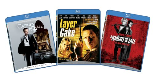 British Action 3-pack Bundle (Casino Royale, Layer Cake, A Knight's Tale) [Blu-ray]