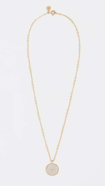 gorjana Womens Pristine Coin Necklace