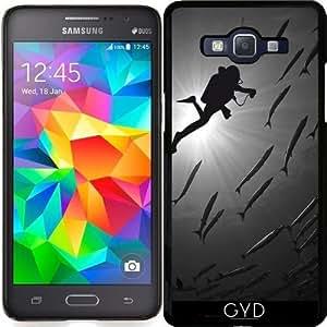 Funda para Samsung Galaxy Grand Prime (SM-G530) - Barracudas Buceo by comlaprom