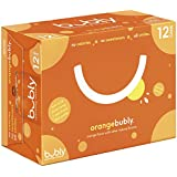 bubly Sparkling Water, Orange, 12 ounce Cans (Pack of 12)