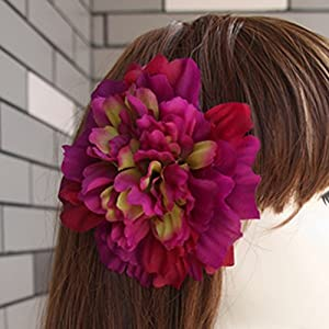 Dahlia Artificial Silk Flowers for DIY Work Home Wedding Party Decorarion 88