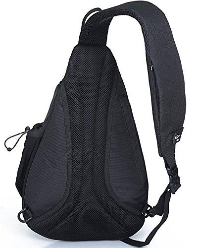 Cross new Gym Arrival Shoulder By Back Travel Bag Chest Ix Sling Black Sports Camping Backpack Pack Rucksack body raZrWpwqxB
