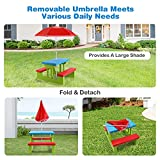 HONEY JOY Toddler Picnic Table with