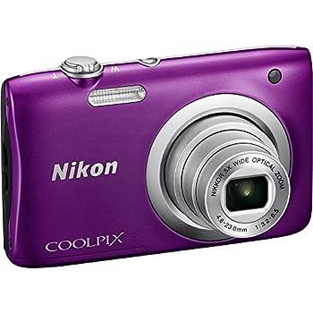 Amazon Nikon Coolpix A100 20MP Digital Camera Purple