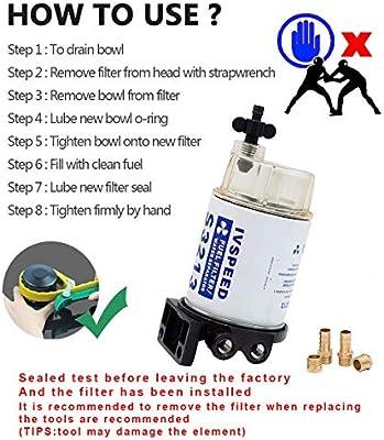 Bertram Warning Leaking Fuel Label