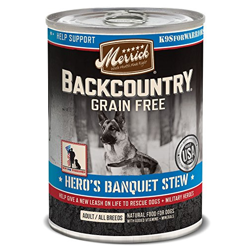 Merrick Backcountry Grain Free Hero's Banquet Grain Free Wet