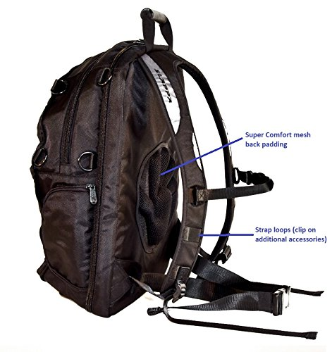 SLAPPA MASK Jedi Checkpoint Friendly 17 inch Gaming and Travel Backpack, tons of storage, Ultimate Protection by Slappa (Image #8)