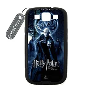 CASECOCO(TM) Harry Potter Samsung Galaxy S3 Case - Protective Hard Back / Black Rubber Sides Case for Samsung Galaxy S3 by ruishername