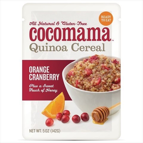 Orange Cranberry Quinoa Cereal 5 Ounces (Case of 6) (Microwavable Quinoa Packets compare prices)