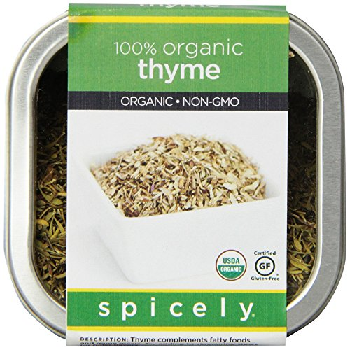 Spicely Organic Thyme - Tin by Spicely (Image #4)