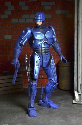 Robocop Action figure 1989 Video Game Appearance Blue