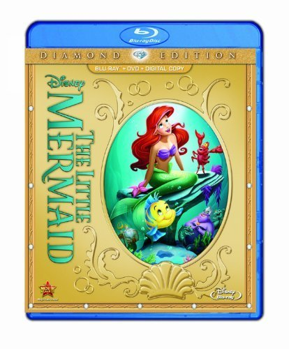The Little Mermaid (Two-Disc Diamond Edition: Blu-ray / DVD + Digital Copy) by Walt Disney Studios Home Entertainment