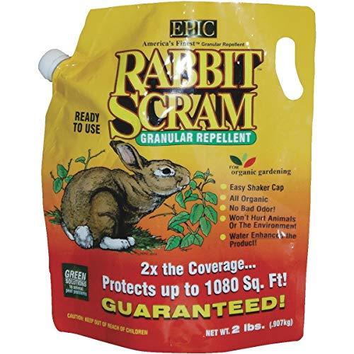 Rabbit Scram Repellent (Rabbit Scram Organic Rabbit Repellent - 11004 Pack of 2)