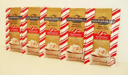 (Ghirardelli Premium Hot Cocoa Mix With Peppermint)