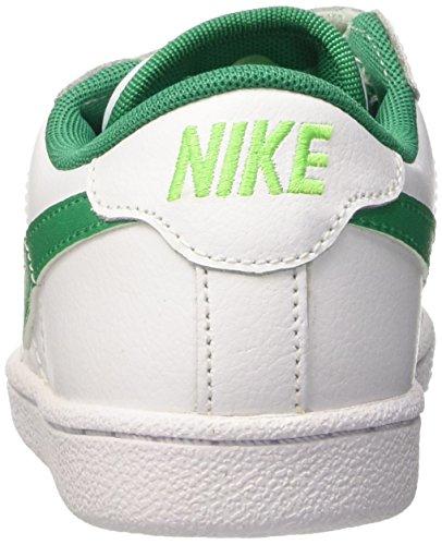 Nike Tennis Classic (Psv), Zapatillas de Tenis para Niños Blanco / Verde (White / Lcd Green-White-Vltg Grn)