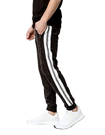 901a77540 Brooklyn Cloth Side Stripe Jogger Pants at Amazon Men's Clothing store:
