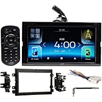 JVC DVD Bluetooth Receiver Android/Carplay/Dual USB For 2007-2008 Ford F-150