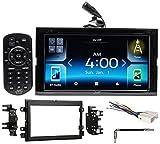 2007-2008 Ford F-150 JVC Car DVD Bluetooth Receiver Android/Carplay/Dual USB