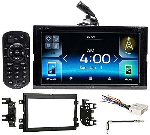 2007-2008 Ford F-150 JVC Car DVD Bluetooth Receiver Android/Carplay/Dual USB by JVC