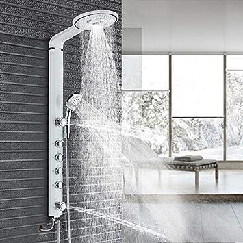 XZ Sistema de ducha para el hogar Juego de ducha para baño negro ...
