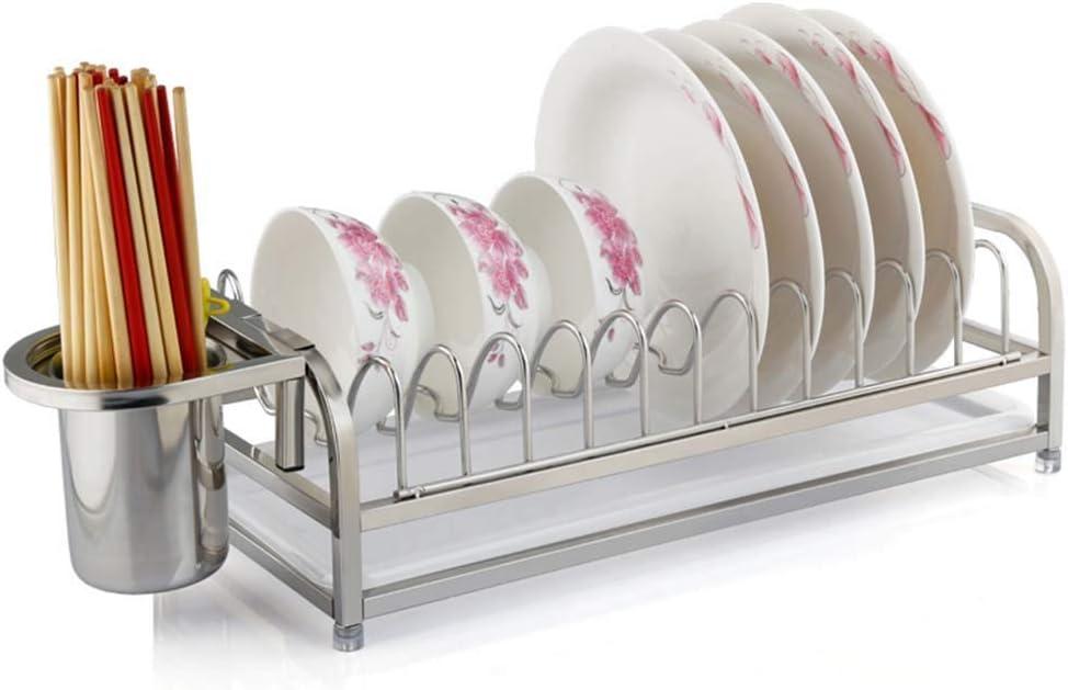 棚, カウンターホルダ16.5 * 7.9 * 4.7インチ上にドリップトレイとラック、トレイホルダーを排出するとともに皿ラック