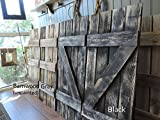Rustic Window Shutters (2) 14'' wide X 36'' tall for 46'' X 36'' Window Pane Mirror (mirror sold separately)