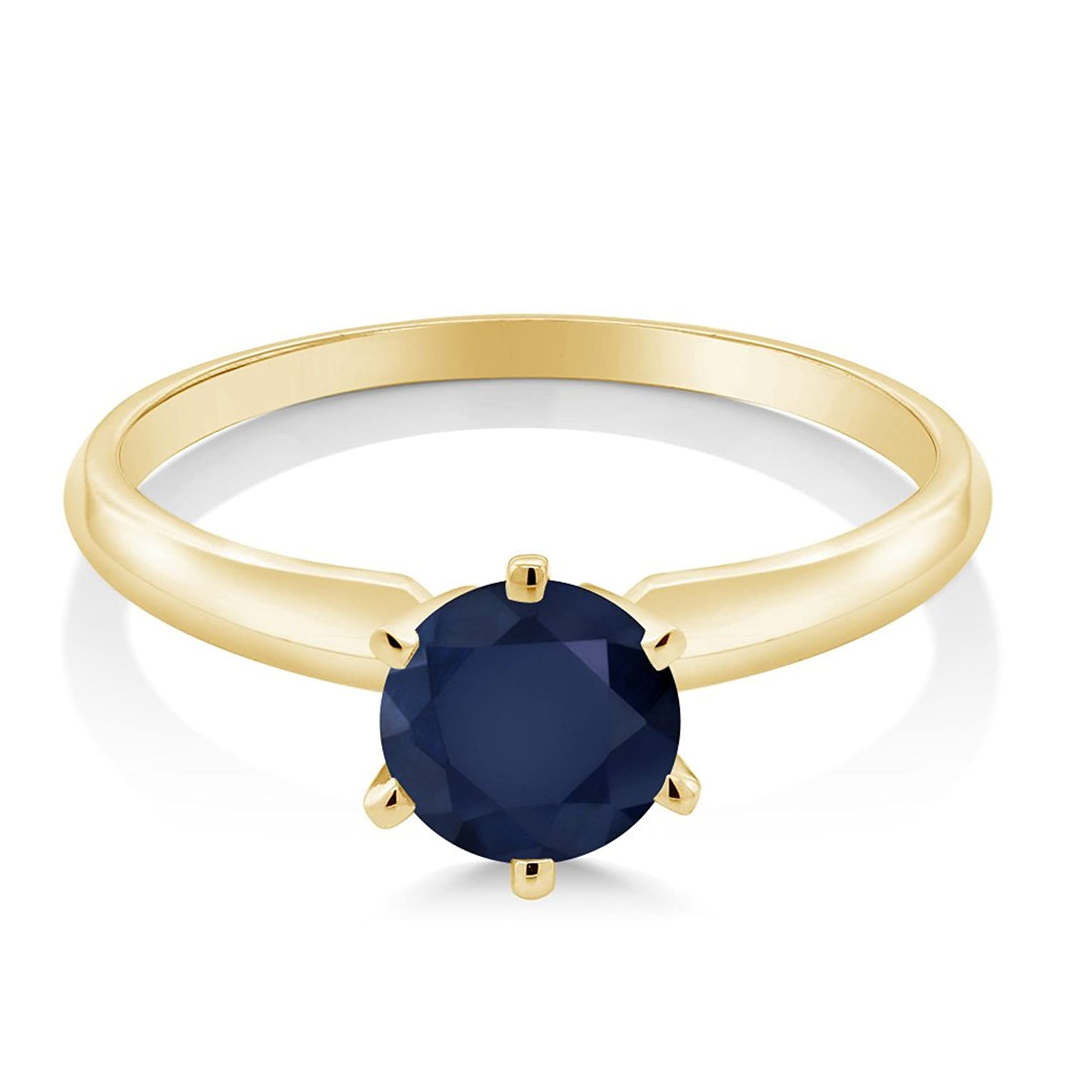 and white ring sapphire diamond gold carat