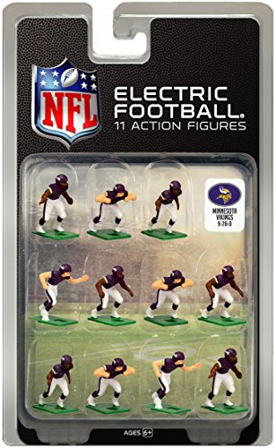 Minnesota Vikings Dark Uniform NFL Action Figure Set