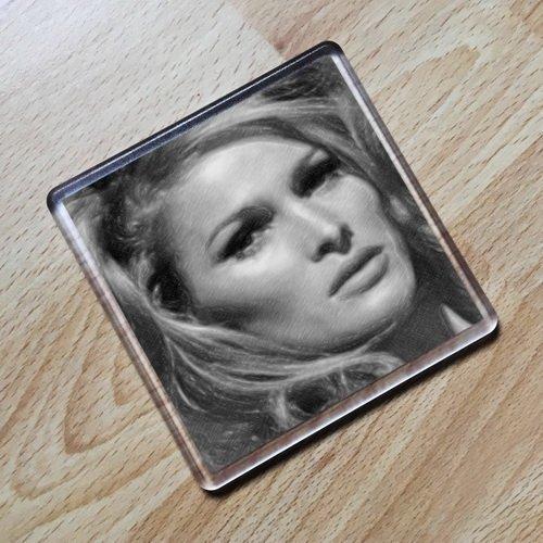 URSULA ANDRESS - Original Art Coaster #js002