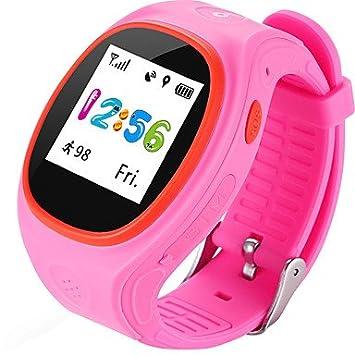 TR Zgpax s866a bluetooth impermeable smartwatch nuevos niños posicionamiento reloj sos gps reloj inteligente para ios teléfono android , blue: Amazon.es: ...