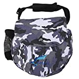 Kestrel Disc Golf Bag | Fits 6-10 Discs + Bottle | for Beginner and Advanced Disc Golf Players | Extremely Durable Canvas | Disc Golf Bag Set | Frisbee Golf Bag