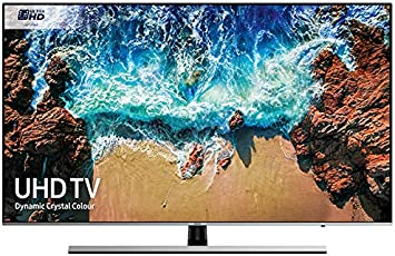Samsung Ue49nu8000 49 Pulgadas dinámica de Cristal de Color 4k Ultra HD HDR Certificado Smart TV 1000: Amazon.es: Electrónica