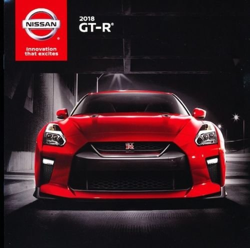 - 2018 Nissan GT-R GTR 16-page Original Car Sales Brochure Catalog - Skyline Nismo