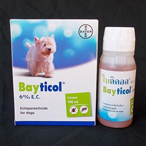 Galleon - Bayer Bayticol 6% Ec 100ml  For Dog Pet Remove