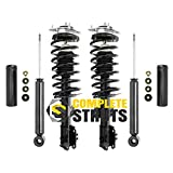 1998-2000 Volvo S70 Front Quick Complete Struts & Rear Bare Shock Absorbers (Set of 4)