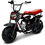 Monster Moto Classic Mini Bike -Assembled in the USA- MM-B105-RB - Red/Black