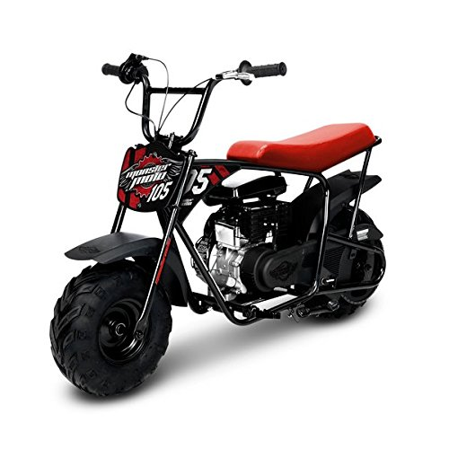 Monster Moto Classic Mini Bike -Assembled in the USA- MM-B105-RB – Red/Black