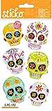 Sticko Sugar Skull Halloween Stickers