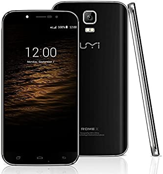 Rome UMI X MTK6580 Smartphone de Pantalla HD 5,5 Pulgadas 1,3 GHz ...