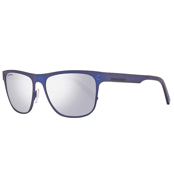 DSQUARED2 Sonnenbrille DQ0222 91C 56 Gafas de sol, Azul ...